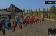 Мод Тракторы МТЗ 80 И 82 V1.2 для Фарминг Симулятор 2017 (FS17)